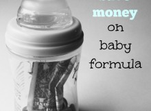 9 Ways to Save Money on Baby Formula