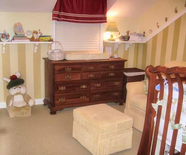 Dresser as a changing table