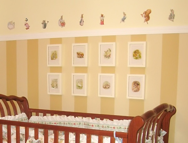Beatrix Potter wall art