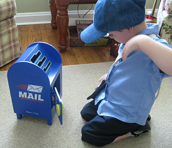 Pretend Play Mail Carrier