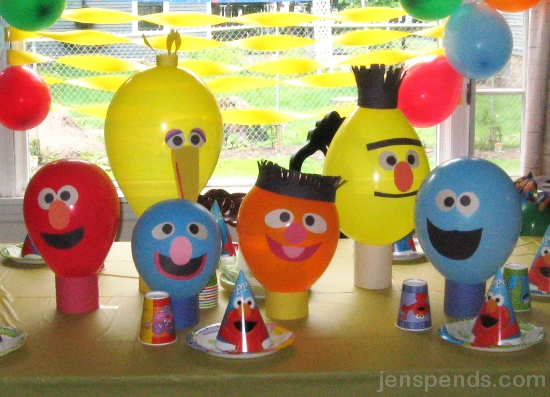 Sesame Street Party Decoration | Party Inspiration Board