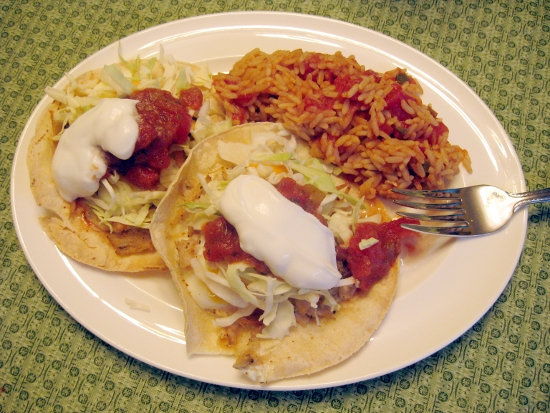 Baked Tostadas | Jen Spends Less