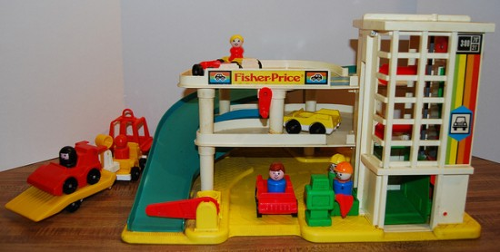 Garage Little People : Fisher price little people then and now jen spends less