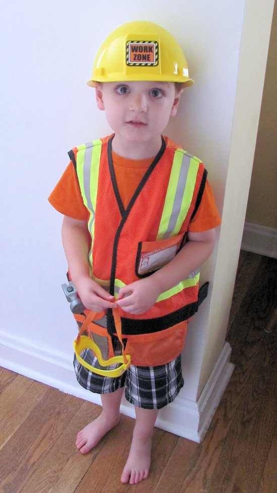 Melissa and Doug Construction Costume