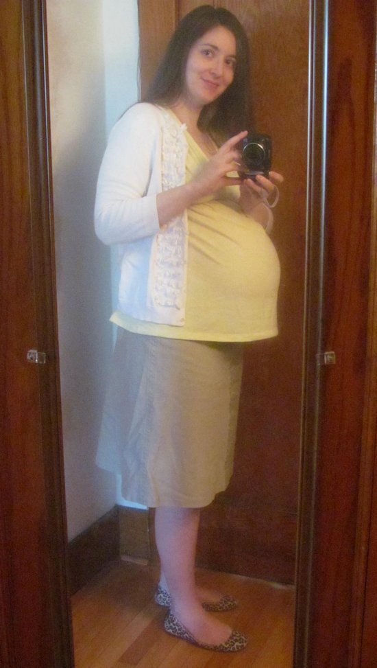 Here I am at 36 weeks