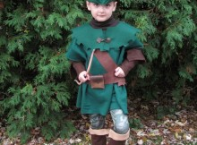 How to make a kids Robin Hood costume