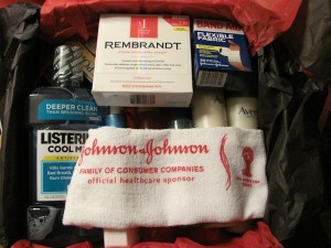 Johnson & Johnson Healthy Essentials Sampler