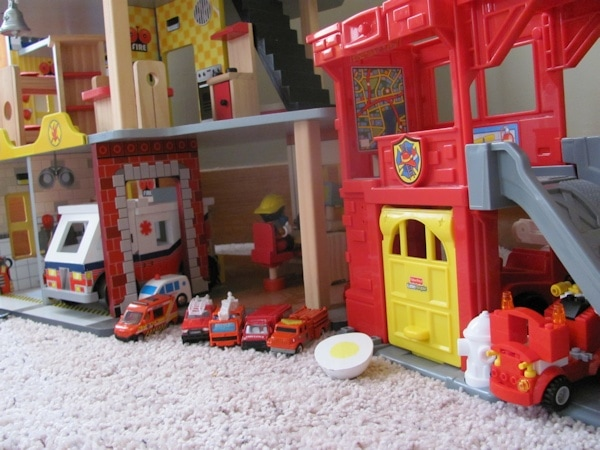 Toy fire department