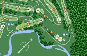 Golf Course Map Designer
