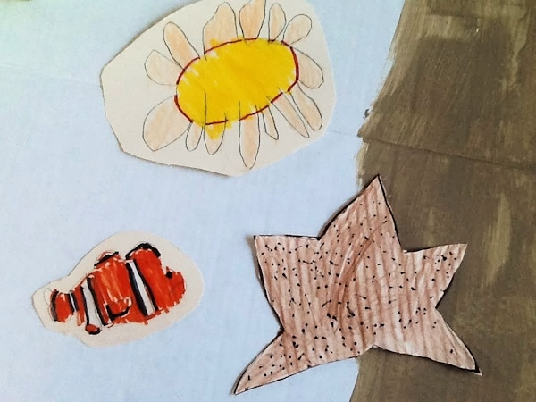 kindergarten fish drawings