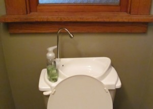 Sink Positive Toilet Tank Sink Review