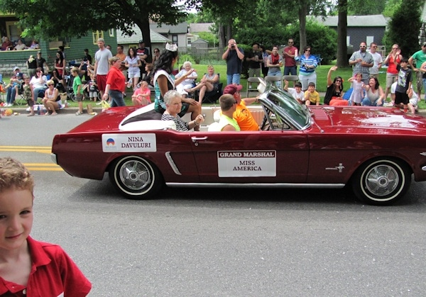 Miss America Boxing Hall of Fame Parade