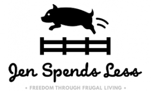 Jen Spends Less: Freedom through frugal living.