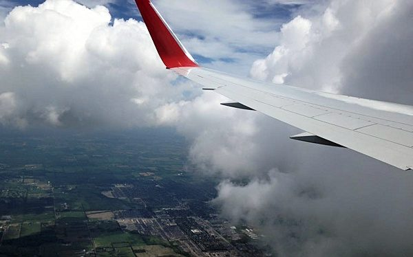 We flew from Toronto to Manchester and back again