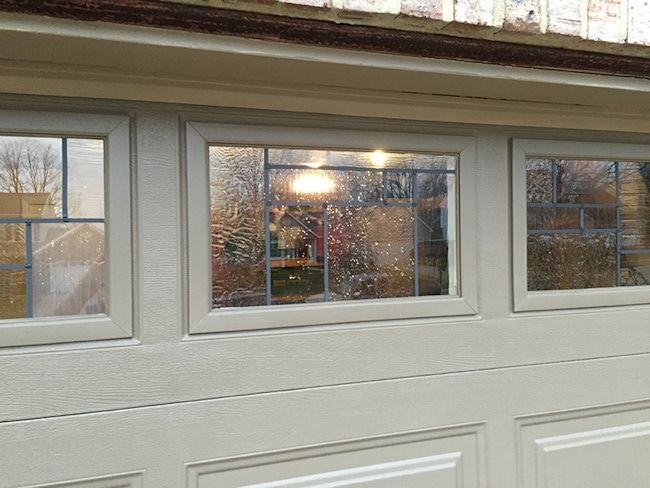 Reader Project Tom S Faux Leaded Glass Garage Windows