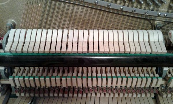 Warped piano hammers