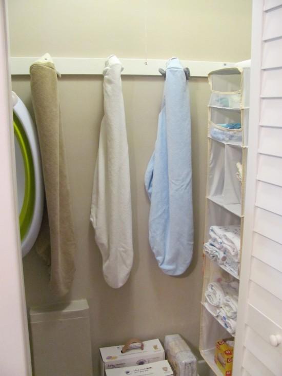 Nursery Closet