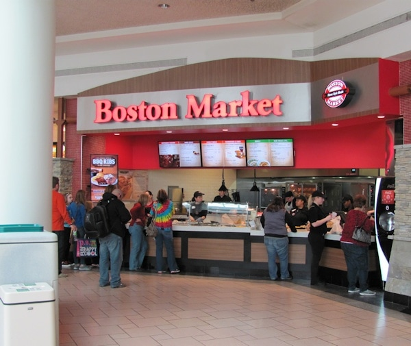 Food Court Location In Destiny USA