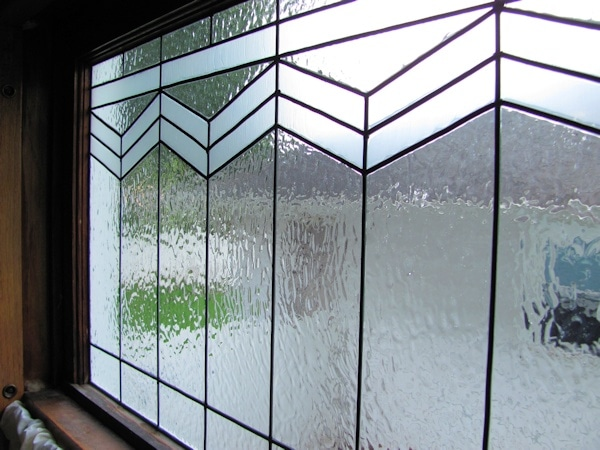 How to Make an Inexpensive DIY Leaded Glass Window